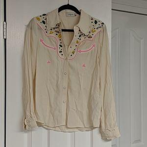 Coach button-up shirt